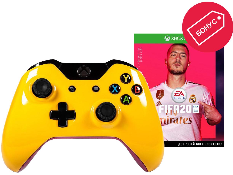 Геймпад Microsoft Xbox One Желтый Тотор…