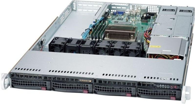 Серверная платформа Supermicro SuperServer 5019S-WR
