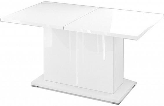 Кухонный стол Цвет Диванов Сахара 1913.М1 дуб вотан/белый лак 150x90x75 см