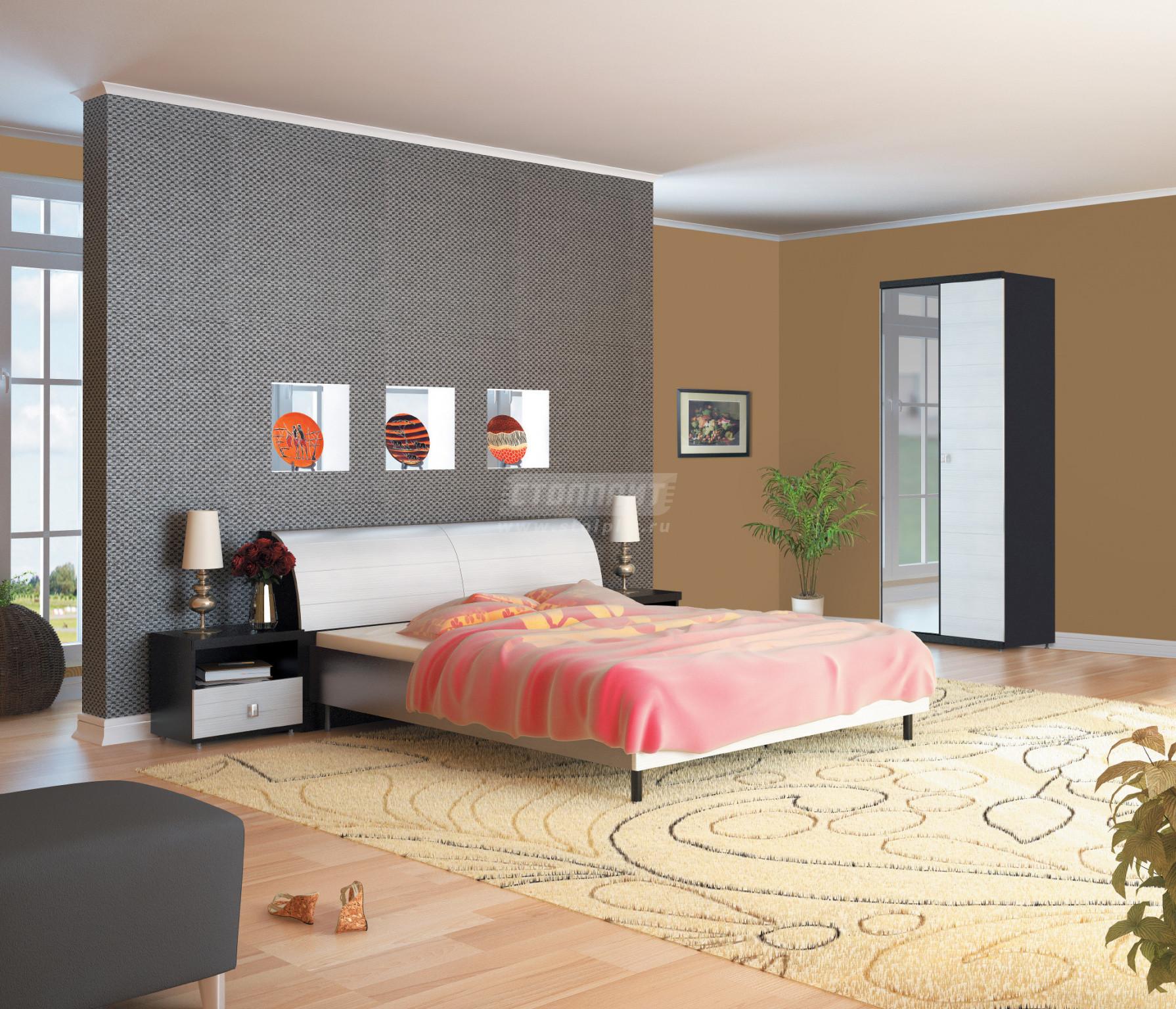 Спальня Столплит Гретта 411-000-000-3701 дуб феррара/онденс