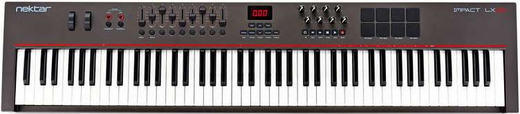 MIDI-контроллер Nektar Impact LX 88+
