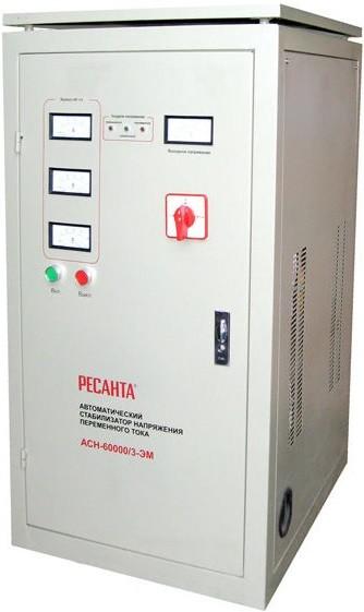 Стабилизатор напряжения Ресанта ACH-80000/3-ЭМ