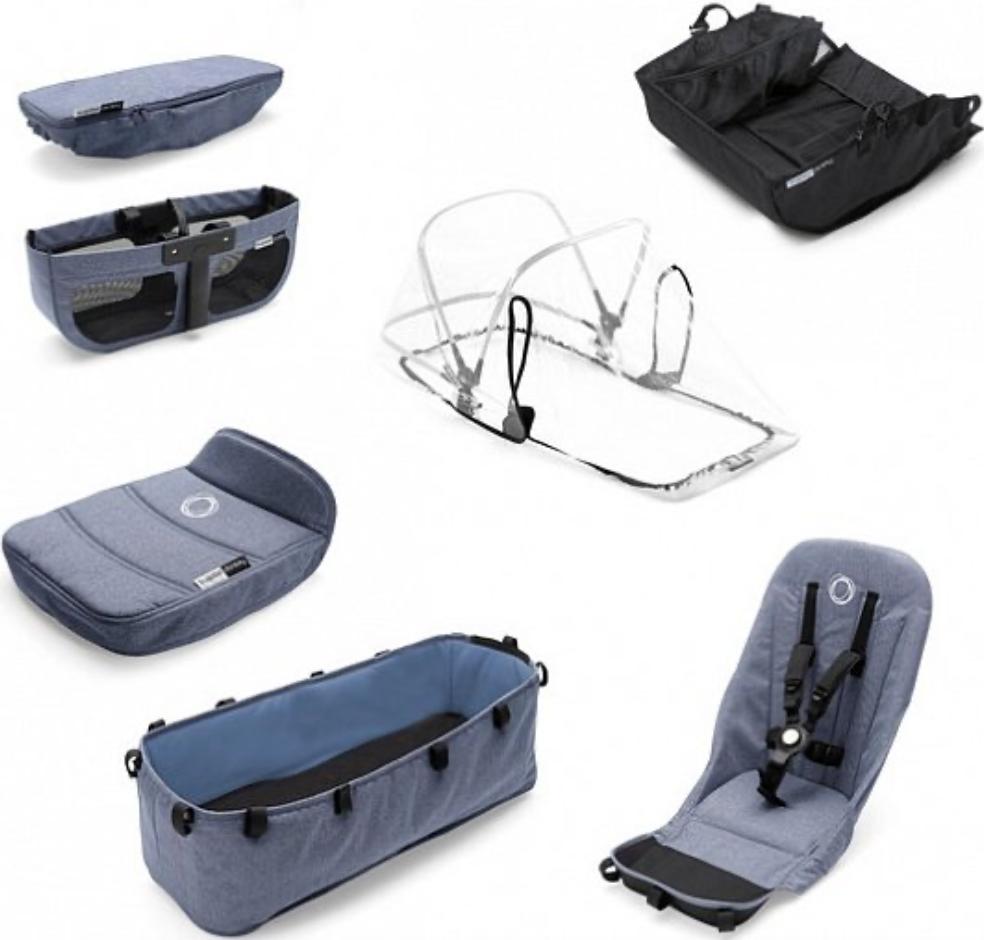 Комплект для коляски Bugaboo 180121BM01 Blue Melange
