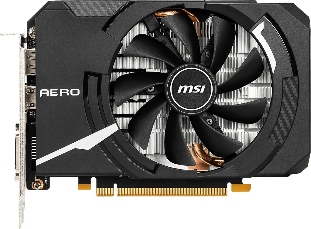 Видеокарта MSI GeForce GTX 1660 Super Aero ITX OC 6Gb