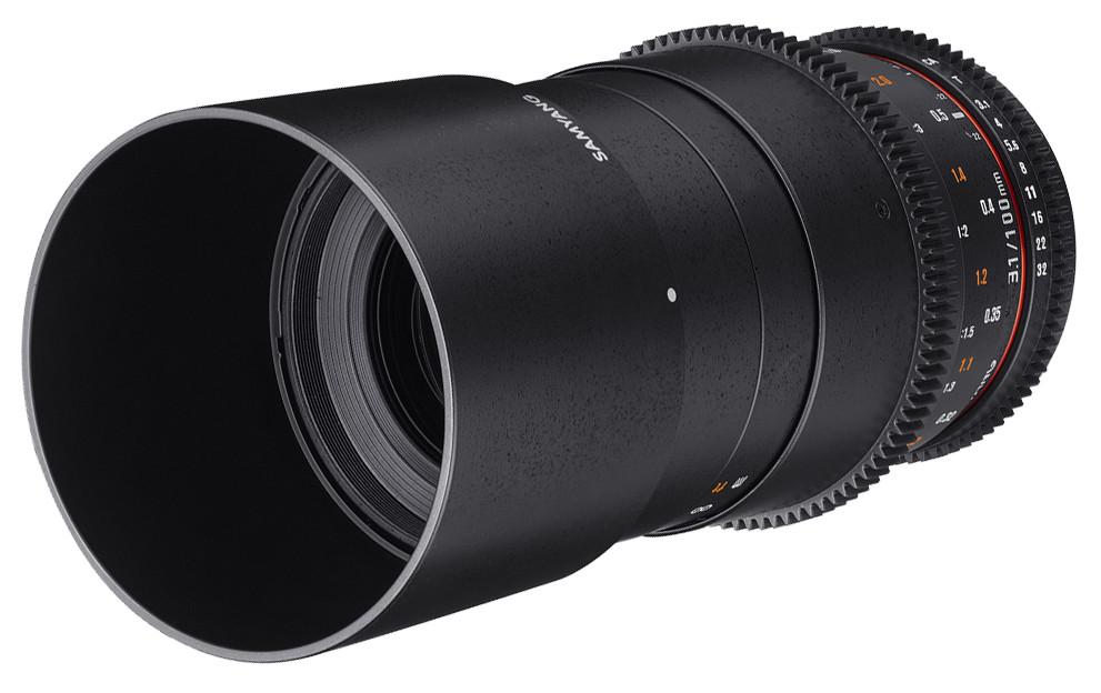 Объектив Samyang MF 100mm T3.1 ED UMC Macro VDSLR Sony A Black