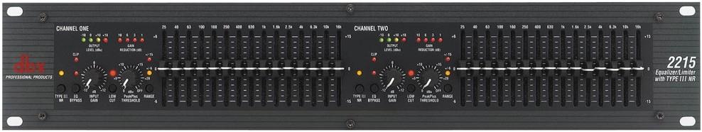Прибор звуковой обработки DBX 2215