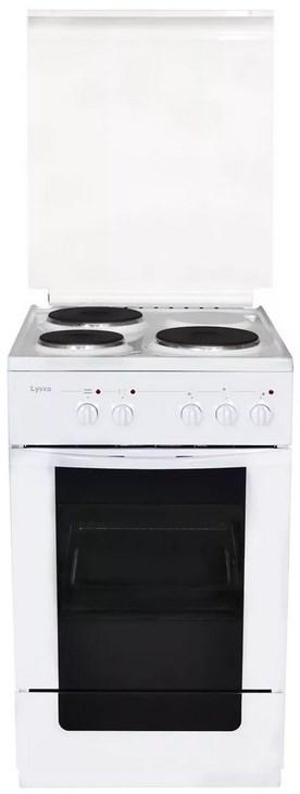 Плита Лысьва ЭП 301 М2С белый, с крышкой