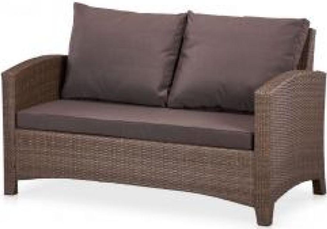 Диван Афина-Мебель S58A-W773 коричневый