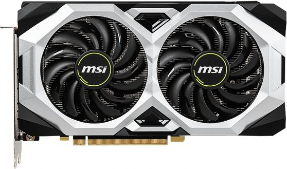 Видеокарта MSI GeForce RTX 2060 Ventus OC 6Gb