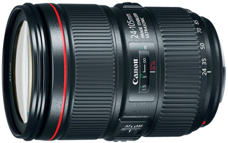 Объектив Canon EF 24-105mm f/4.0 L IS II USM Black