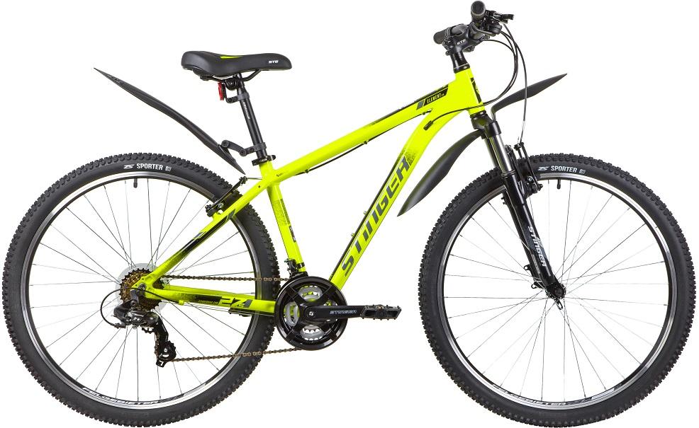 """Велосипед Stinger Element STD 27.5 (2020) зеленый 27.5""""/20"""""""