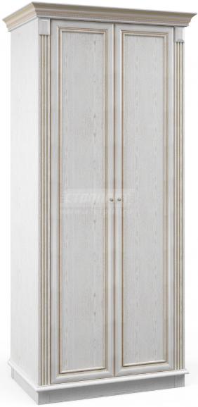 Шкаф Столплит Версаль 010-204-500-0000 белый ясень 100x218x63 см