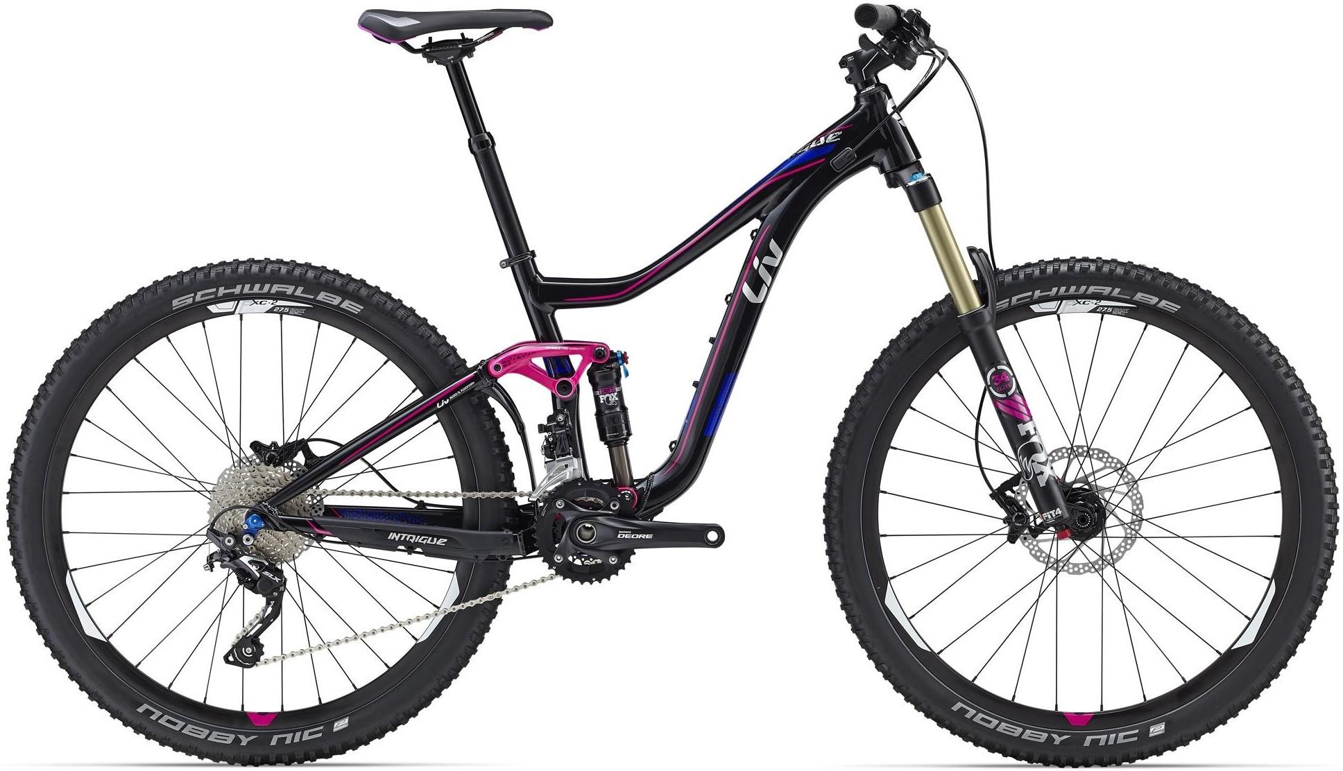 "Велосипед Giant Intrigue 1 Black 27.5"""