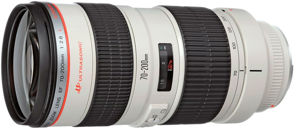 Объектив Canon EF 70-200mm f/2.8 L USM White
