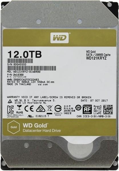 "Жесткий диск WD Gold 12Tb/HDD/3.5"""
