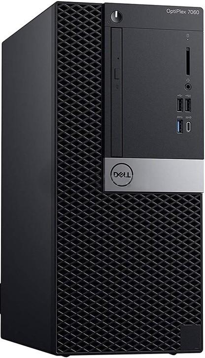 Компьютер Dell OptiPlex 7060 MT 3GHz/8Gb/1Tb/W10 Black
