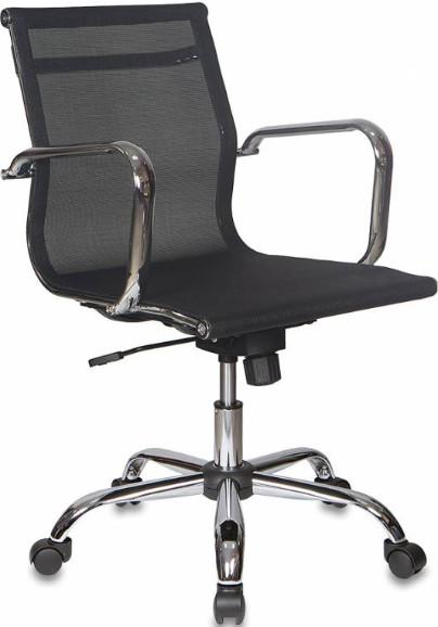 Кресло руководителя Бюрократ CH-993-LOW/M01 черный