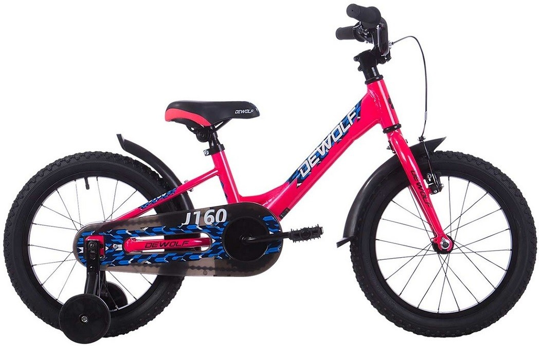 "Велосипед Dewolf J160 Girl розовый 16""/S"