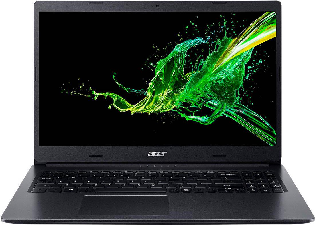 "Ноутбук Acer Aspire 3 A315-55G-388L 15,6""/2,1GHz/8Gb/256GbSSD/GeForce MX230/W10 Black"