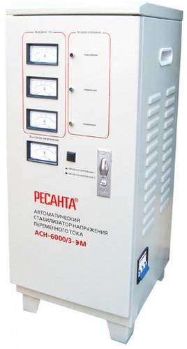 Стабилизатор напряжения Ресанта ACH-6000/3