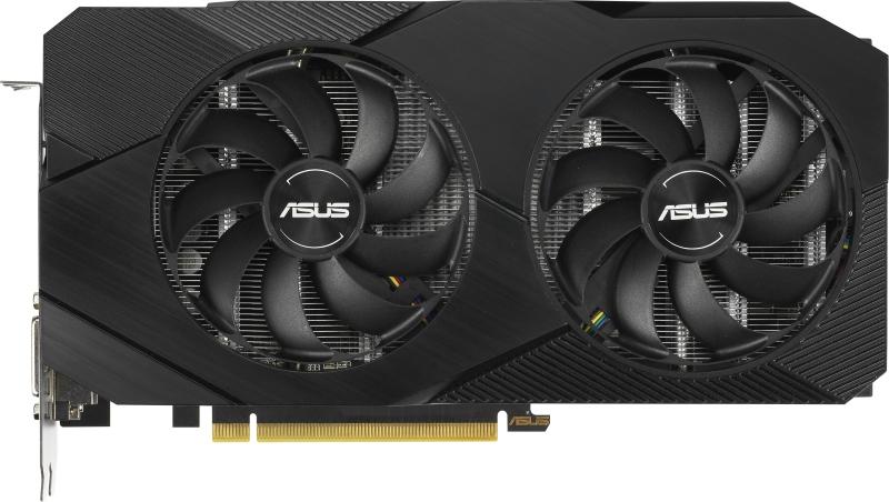 Видеокарта Asus GeForce GTX 1660 Super Dual Advanced Evo 6Gb