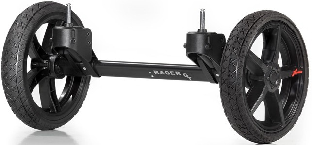 QUAD система для коляски Hartan Racer GT черно-оранжевый