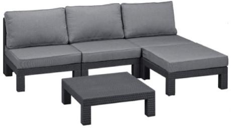 Комплект мебели Allibert Nevada Low графит