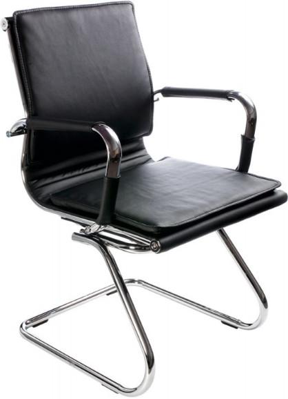 Кресло посетителя Бюрократ CH-993-LOW-V/BLACK черный