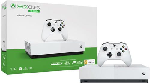 Игровая приставка Microsoft Xbox One S 1T All Digital