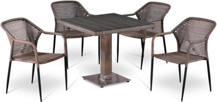 Комплект мебели Афина-Мебель T503SG/Y35G-W1289 4Pcs бледный