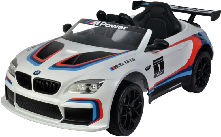 Электромобиль Barty BMW M6 GT3 White