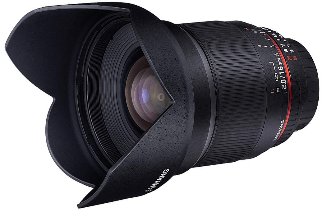 Объектив Samyang MF 16mm f/2.0 ED AS UMC CS Sony E Black