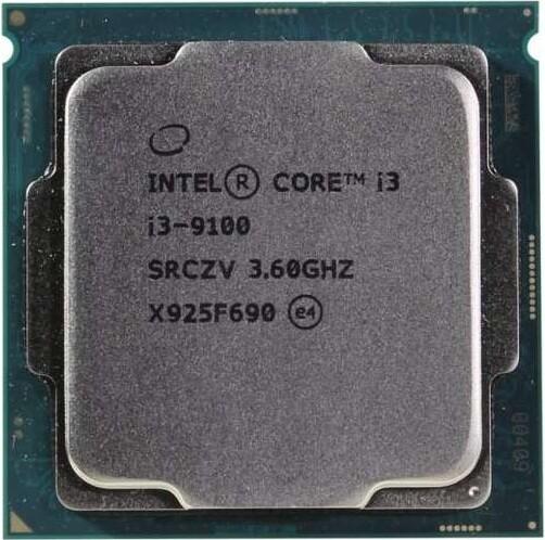 Процессор (CPU) Intel Core i3-9100 3.6GHz OEM
