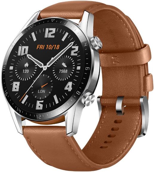 Умные часы Huawei Watch GT 2 LTN-B19 Hybrid Strap Pebble Brown