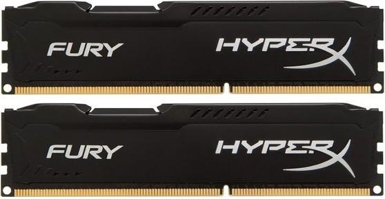 Память Kingston HyperX Fury DIMM DDR3 2x8Gb 1333MHz Black