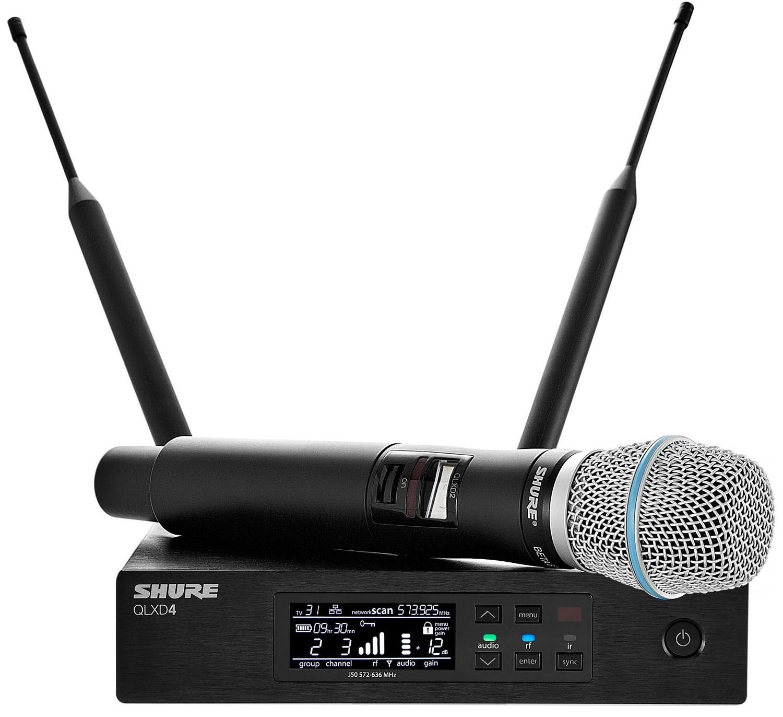Цифровая радиосистема Shure QLXD24E/B87…