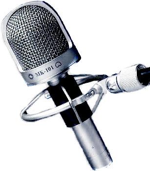 Микрофон Октава МК-101 никель