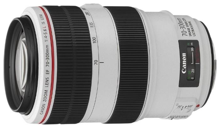 Объектив Canon EF 70-300mm f/4.0-5.6 L IS USM White