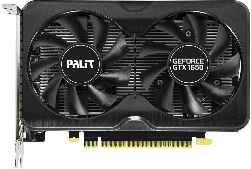 Видеокарта Palit GeForce GTX 1650 Gaming Pro 4Gb
