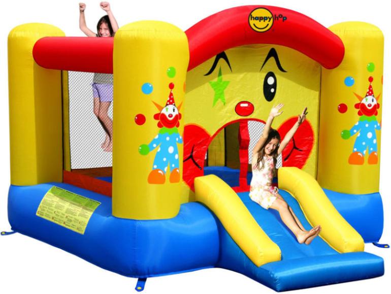 Надувной батут Happy Hop Забавный клоун