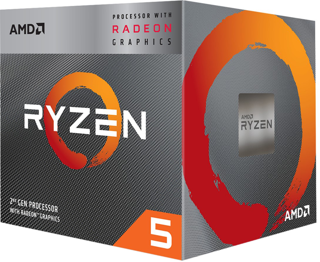 Процессор (CPU) AMD Ryzen 5 3400G 3.7GHz BOX