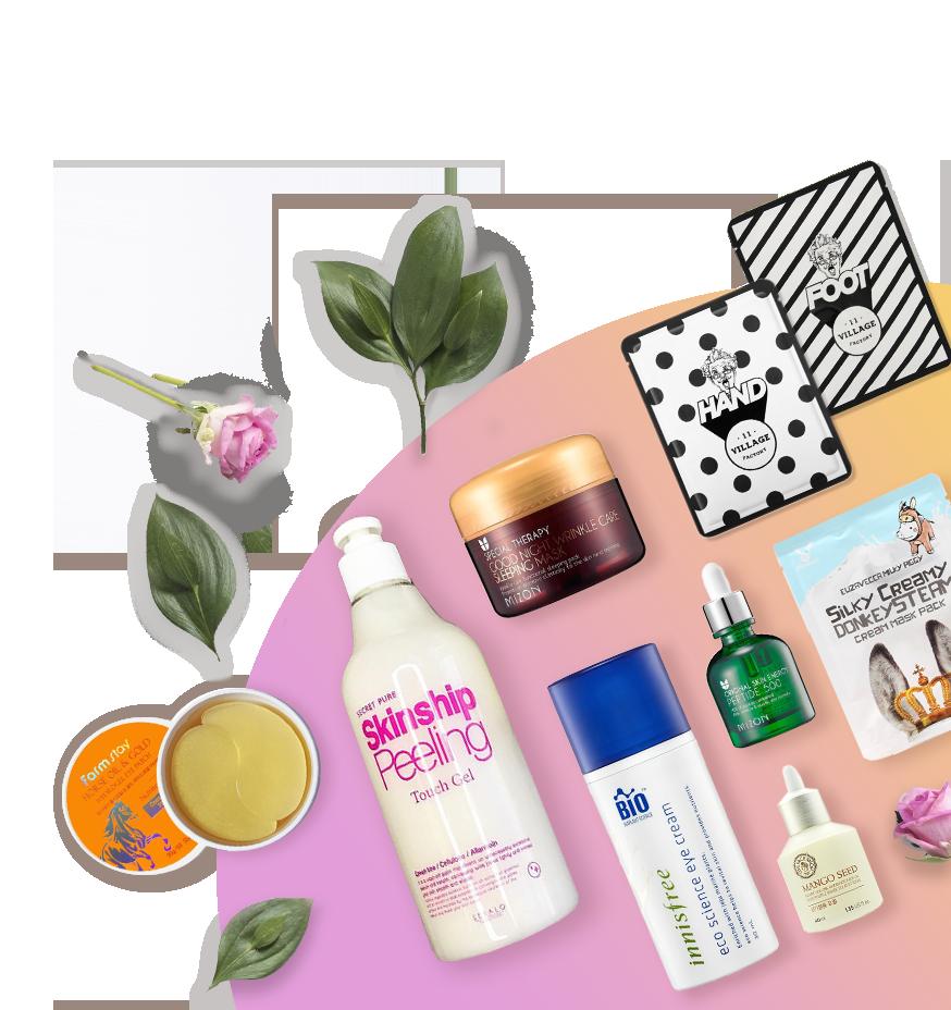 Набор косметики Cosmetic Box для ежедневного ухода за кожей лица против морщин