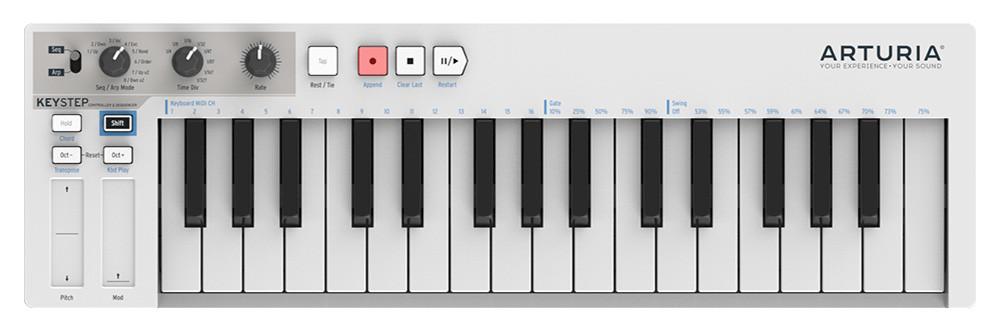Миди-клавиатура Arturia KeyStep