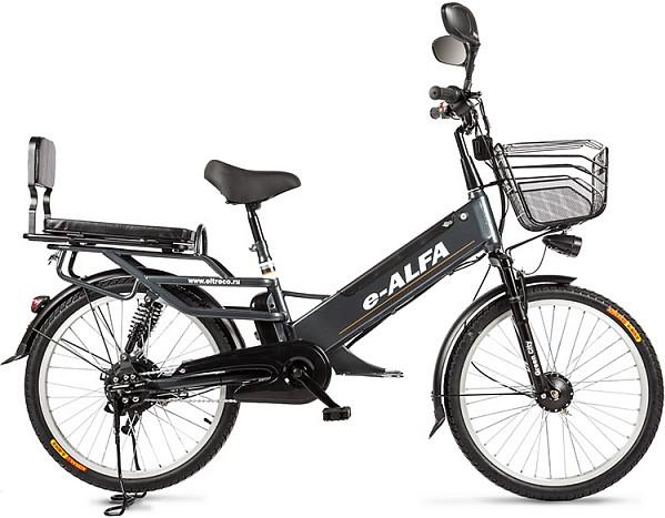 Электровелосипед Eltreco e-ALFA GL Gtay…