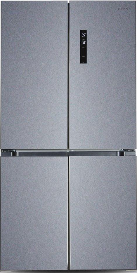 Холодильник Ginzzu NFK-575 Dark Grey