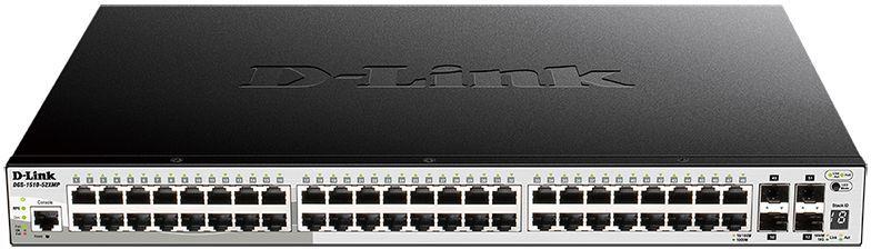 Коммутатор D-Link DGS-1510-52XMP/A1A