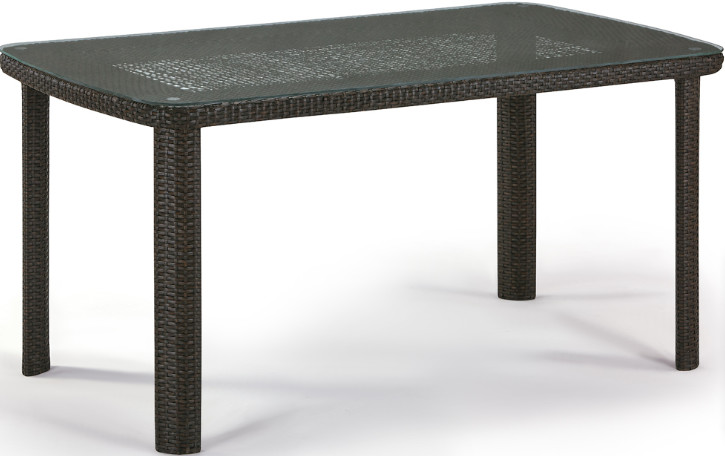 Стол Афина-Мебель T51A-W53 коричневый