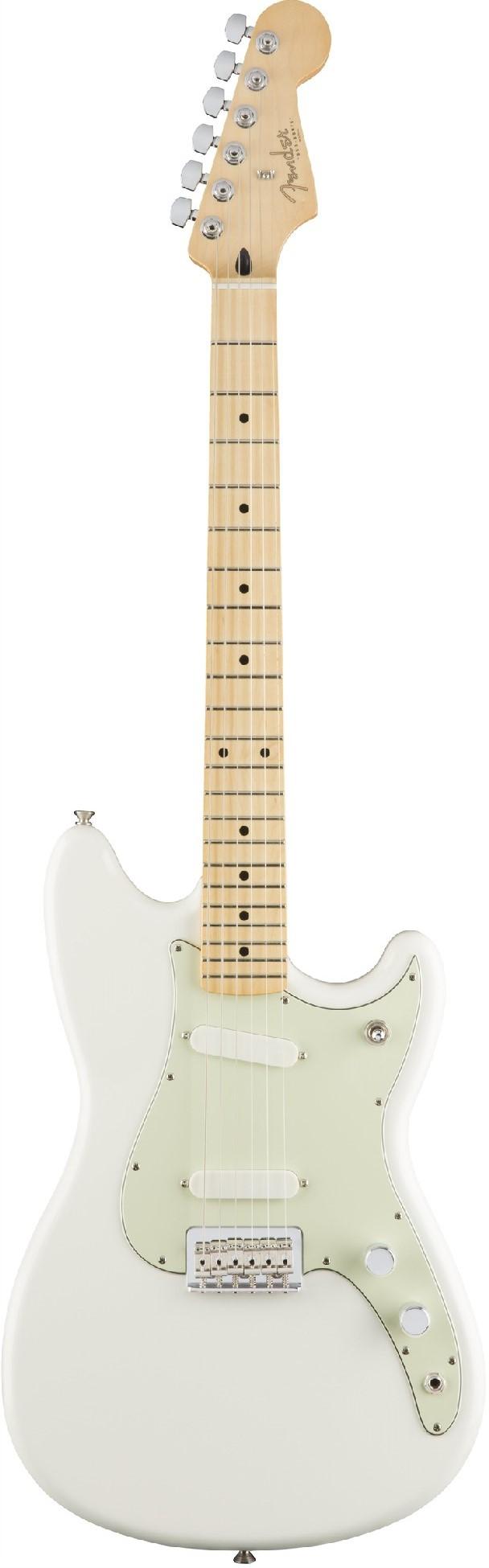 Электрогитара Fender Duo Sonic MN Arctic White