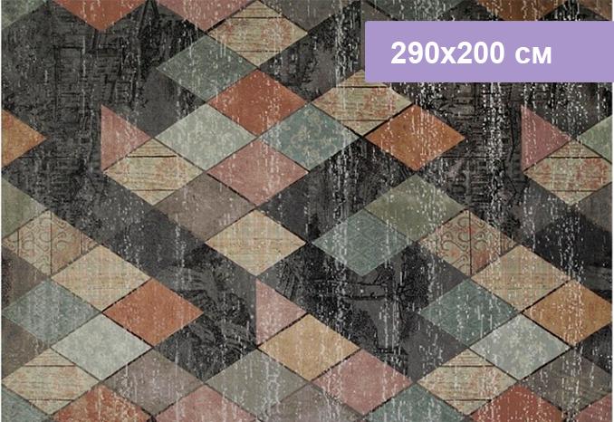 Ковер Цвет Диванов Maro 1339.01 ментоловый 290x200 см