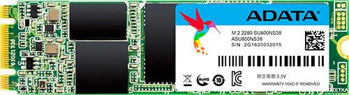 SSD-накопитель A-Data Ultimate SU800 1Tb/SSD/M.2